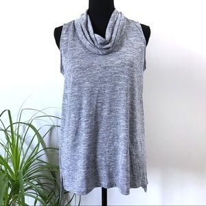 Lou & Grey for Loft cowl neck tunic
